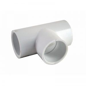 32 mm PVC Jacuzzi Pool T-Piece-White