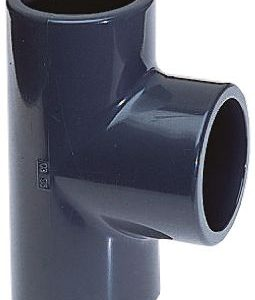 32 mm PVC High Pressure Fitting T-Piece Grey